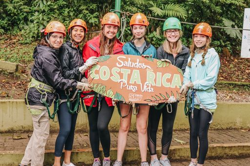 Spanish Students from Dalton High School Visit Costa Rica